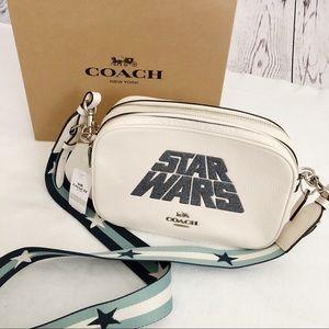 Star Wars X Coach Jes Crossbody With Glitter Motif